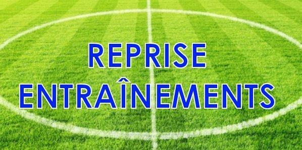 Ecole de Foot / Pré-Formation : Reprise des entraînements saison 2017/2018
