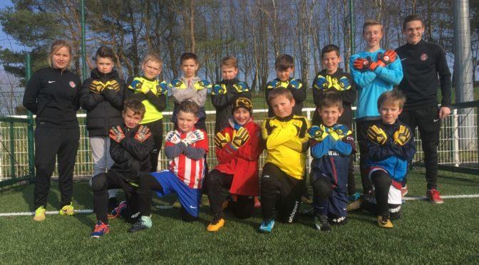L'USMEF équipe ses gardiens de l'Ecole de Foot