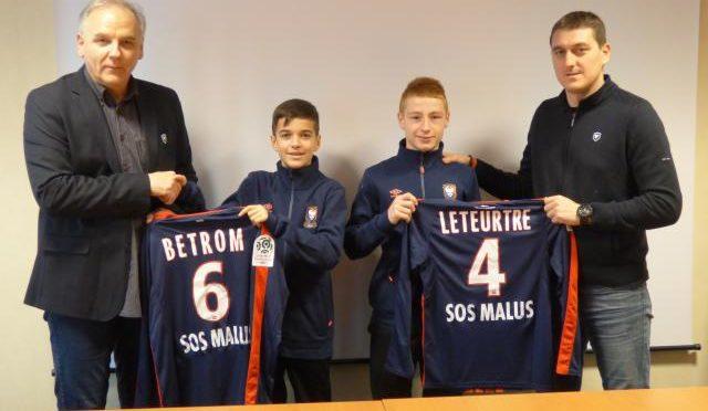 Lucas BETROM et Nathan LETEURTRE signent au SM CAEN