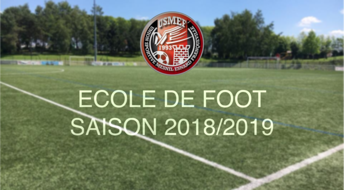 Ecole de Foot : organisation d'un stage de printemps