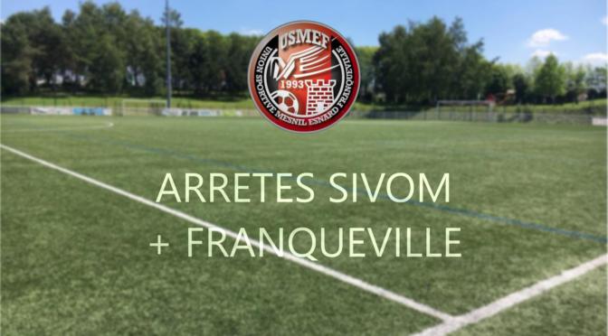 SIVOM & Franqueville : pas d'entraînements aujourd'hui !