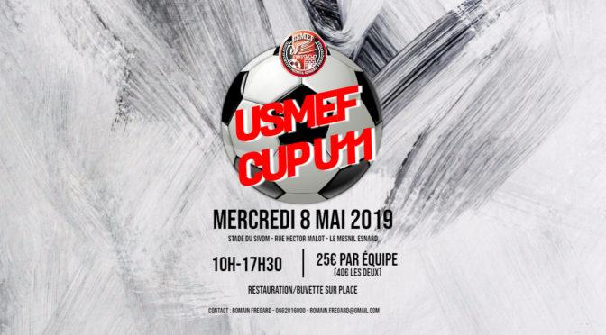 Mercredi 8 mai 2019 : USMEF CUP U11