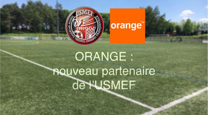 Orange : nouveau partenaire de l'Ecole de Foot