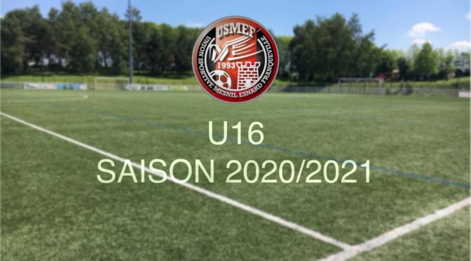 Saison 2020/2021 : catégorie U16 (2005)