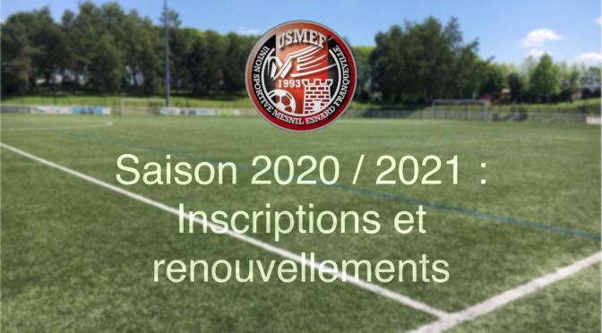 En route vers la saison 2020/2021 !