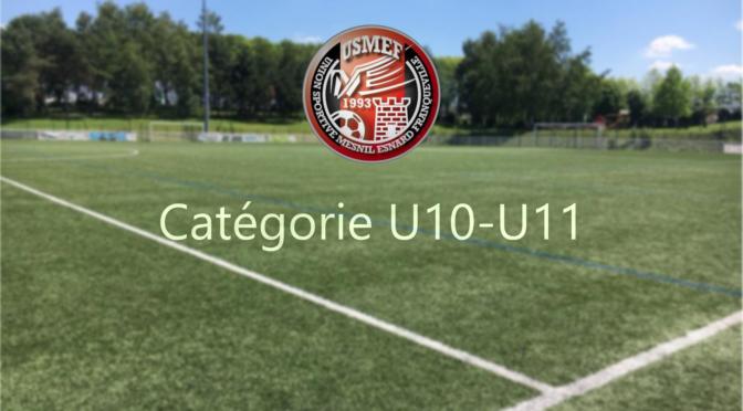 Catégorie U11 : convocations samedi 12 septembre 2020